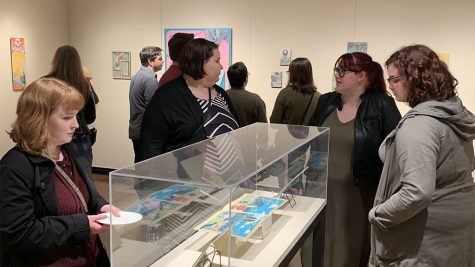 Art faculty brings diversity to exhibit