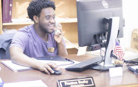 Campus service a priority for senior