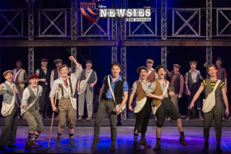 'Newsies' runs until March 2 at Wichita Theatre