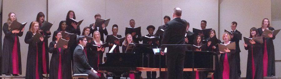 MSU Choir singing