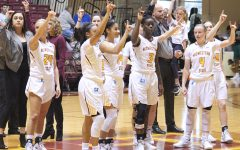 Women's basketball holds nerve to earn fourth straight win at the Dome