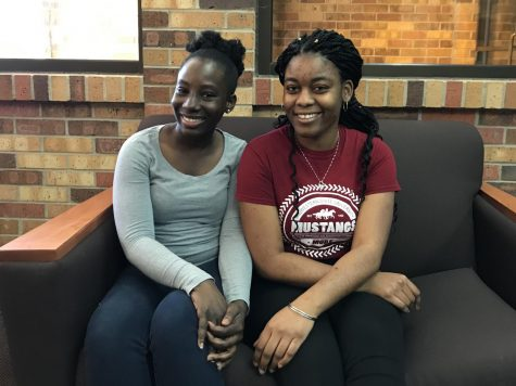 Aileen Church, pre-nursing junior, and Mikallah Alexander, psychology junior, are hosting a Being a Global Citizen forum on March 12 in Bolin 127 from 4 - 5:30 p.m.