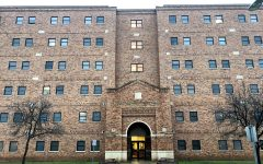 McCullough-Trigg Hall 77.46ft tall. March 12.