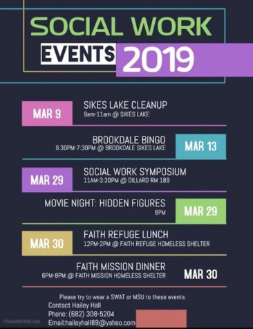 Social work events