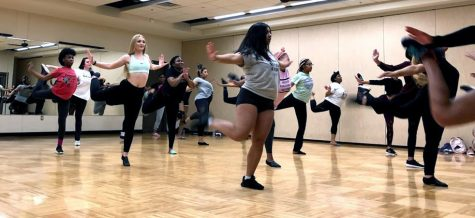 Prancettes held clinic to prepare girls for March 7 auditions