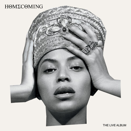 Beyoncé's album cover for her most recent album Homecoming: The Live Album  Photo curtesy: www.beyonce.com