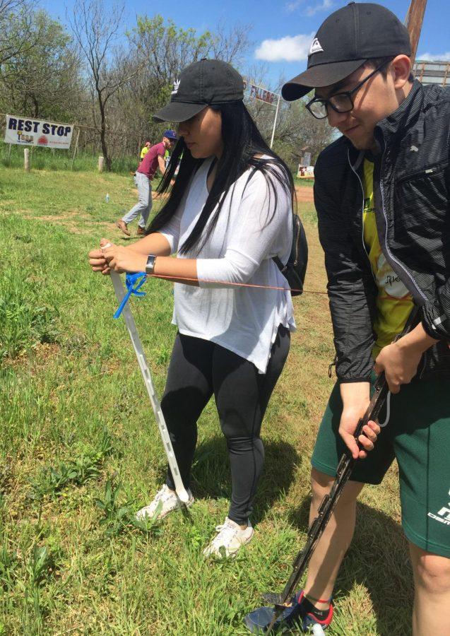 Bianca Rodrigo course volunteer