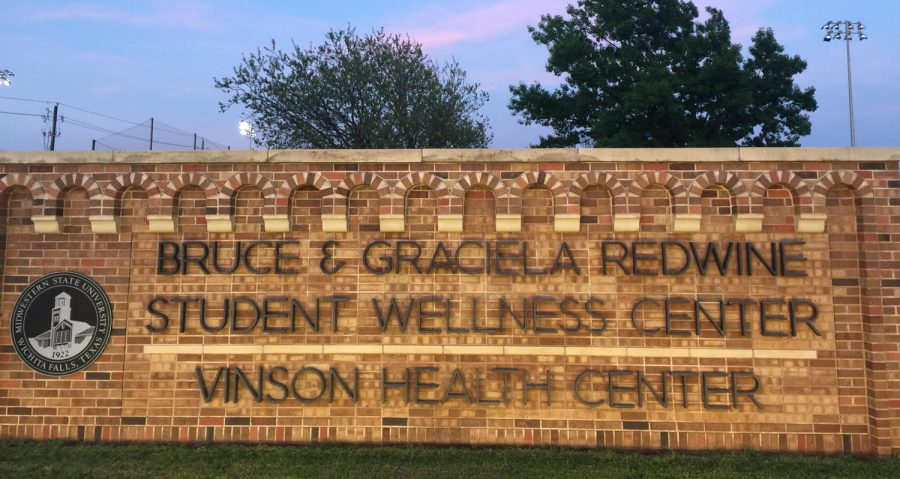 Because of their $12 milion donation, the student wellness center was named after Bruce and Graciela Redwine. Photo by Elizabeth Mahan