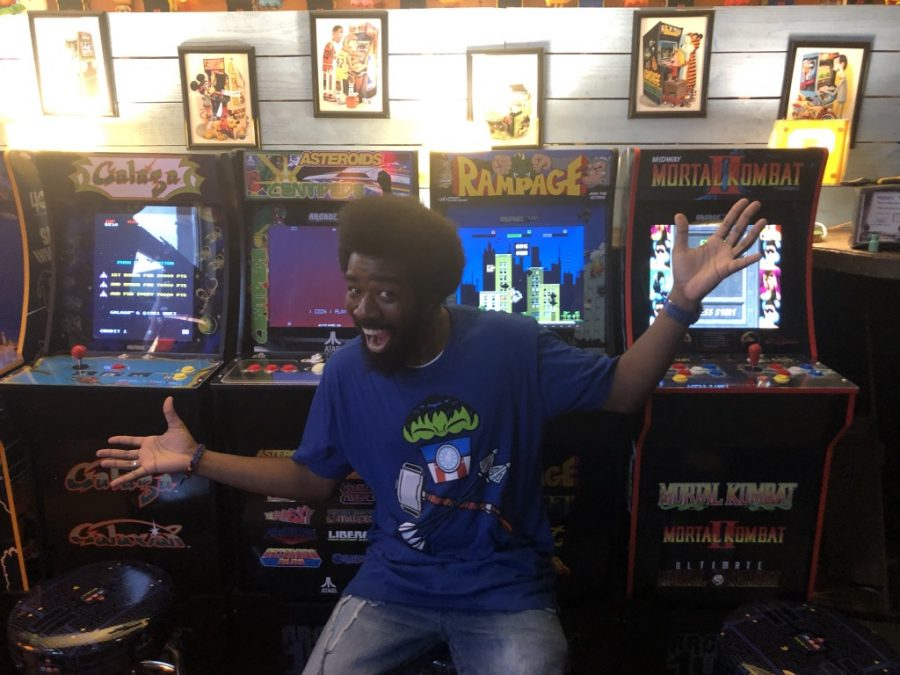 'Maniac's Mansion' is a new arcade downtown