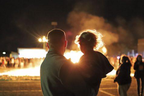 Torchlight Parade and Bonfire tradition continues