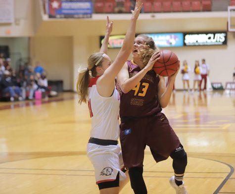 Basketball hosts Cameron University for last home game