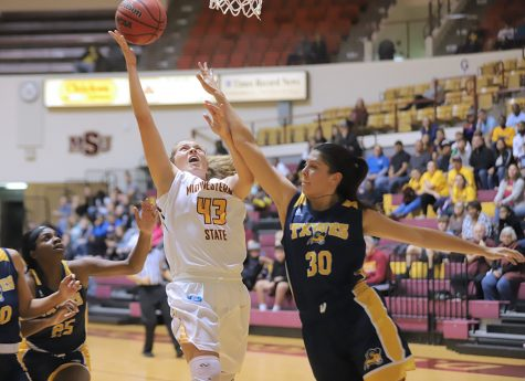 Women's basketball takes down Texas Wesleyan