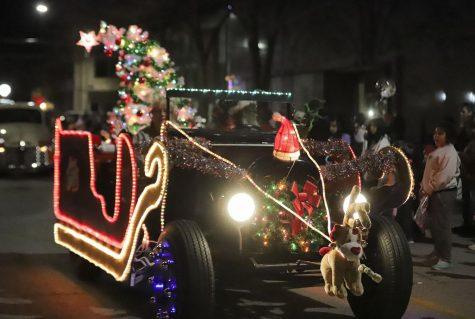 Classic car sleigh
