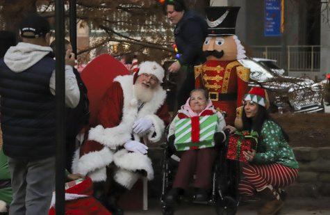Heartwarming Santa picture