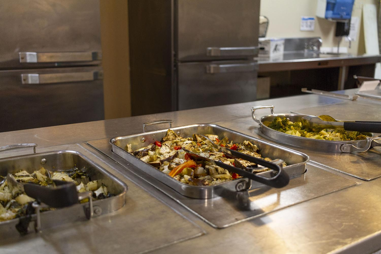 The vegan options in Mesquite dining hall Photo by Colin Stevenson