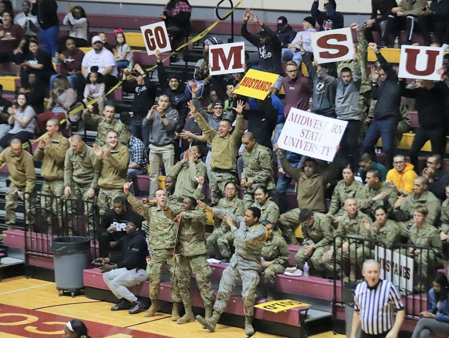 Military cheering