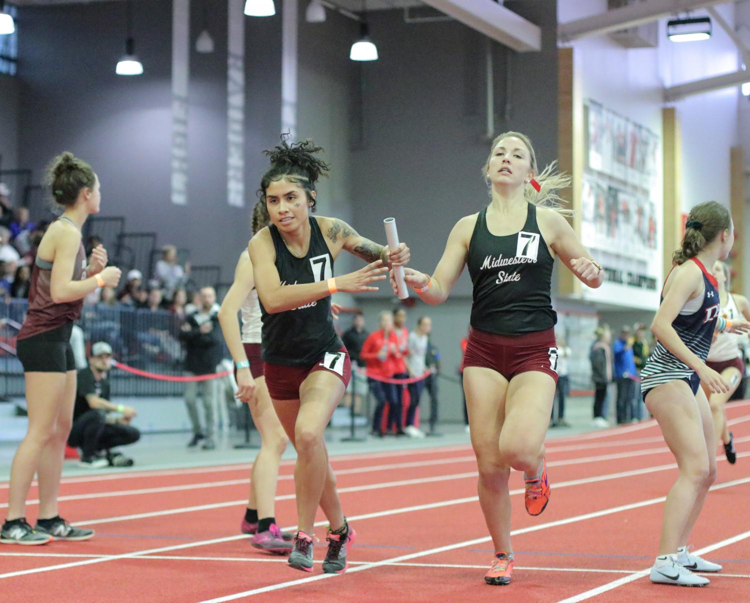 Day One Recap Of The LSC Indoor Track And