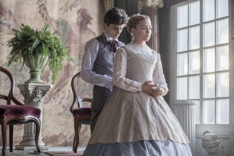 Timothée Chalamet and Florence Pugh in Little Women (2019)