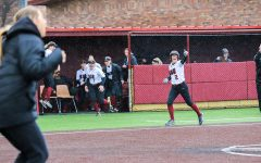 Softball splits the double header