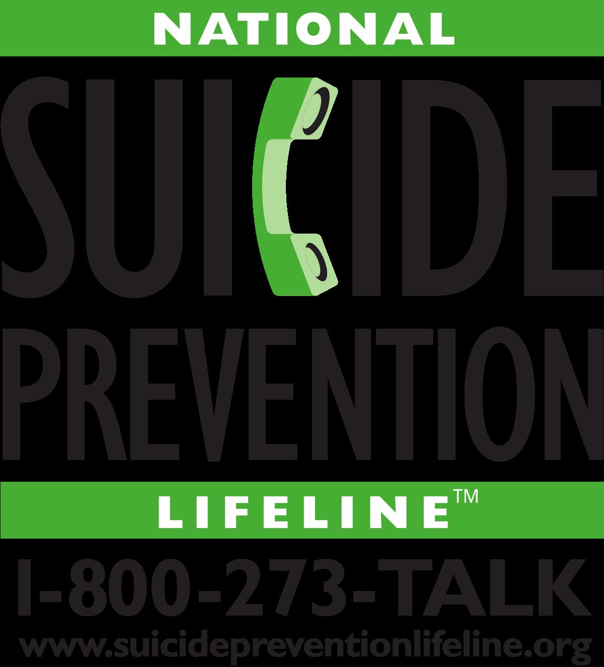 Suicide prevent line