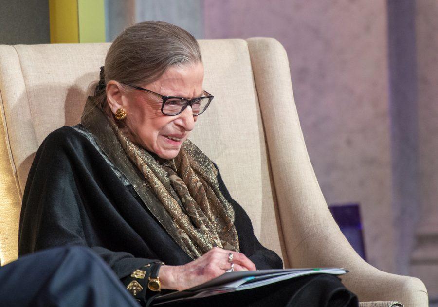 Ruth Bader Ginsburg, 2020.