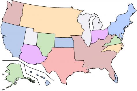 Broken up USA