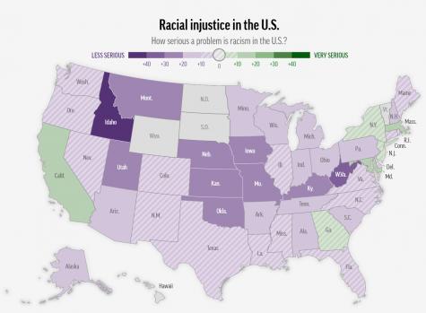 racial justice map