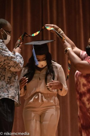graduate receives stoll