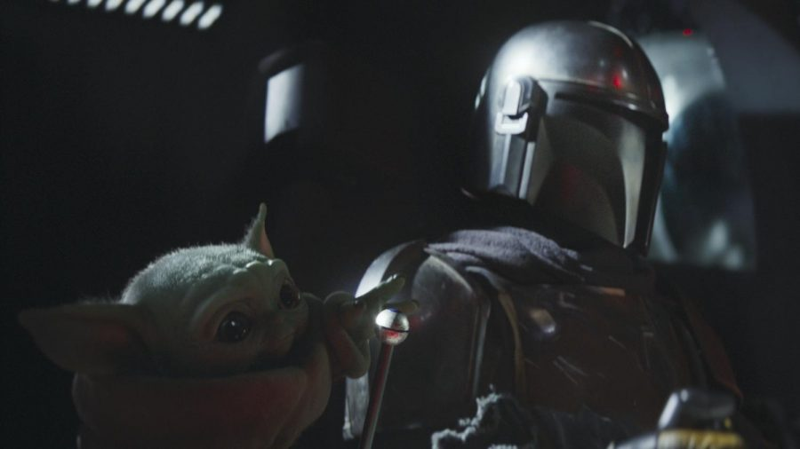 The Mandalorian and the Child.