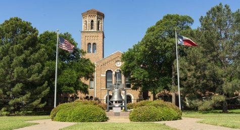 Hardin building, MSU Texas, July 2020.