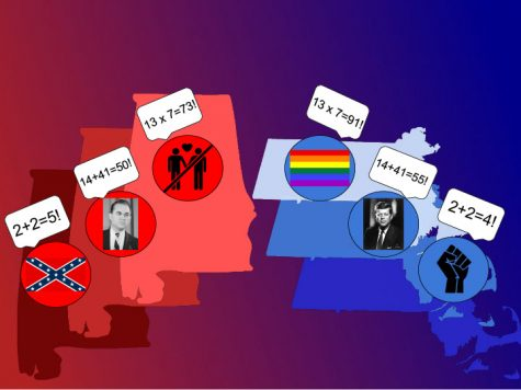 Tale of Two States: Confederacy or abolition, George Wallace or JFK, homophobia or marriage equality, March 25.