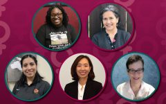 Collage of some standout women at MSU Texas.