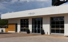 The exterior of Collective Coffee, May 16.