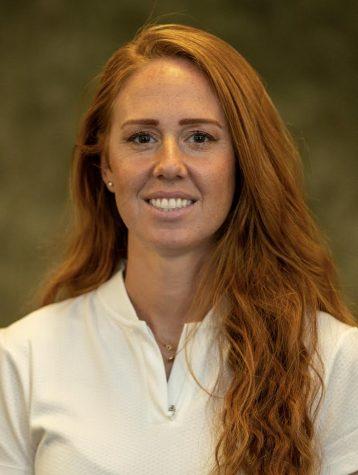 Brittanie Talley, the new softball coach