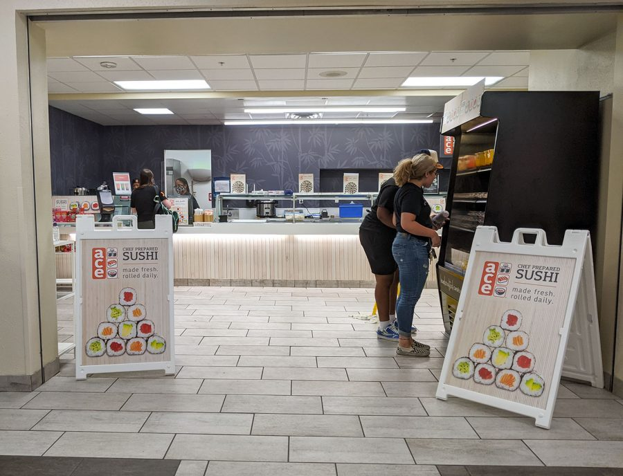 Ace Sushi is a new restaurant in the Clark Student Center at MSU