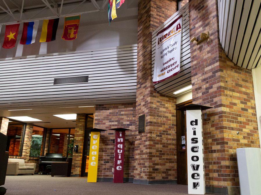 EURECA's office sits in the Atrium at Clark Student Center