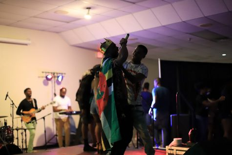 Esco Levi and Krim celebrate after the formers crowning.