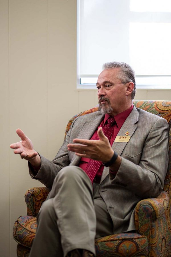 """Interim president James Johnston hopes to make his temporary position official, saying """"I certainly would love the opportunity to continue in this role."""""""