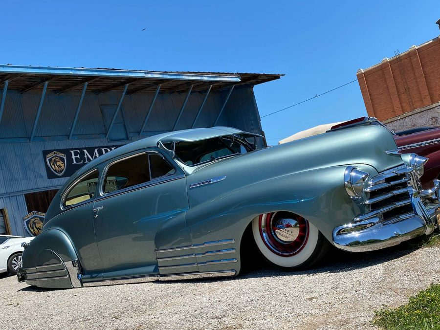 A car owned by Ruben Rodriguez Sr. is displayed at RHOC Fest car show.